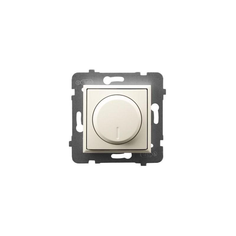 Regulatory-oswietlenia - regulator oświetlenia przyciskowo-obrotowy ecru łp-8u/m/27 aria ospel firmy OSPEL