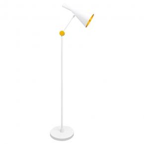 Biała lampa podłogowa 20W...