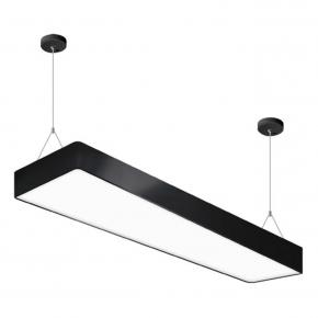 Lampa sufitowa czarna FLARA...