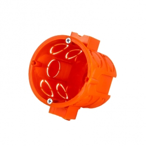 Puszki-podtynkowe - puszka montażowa podtynkowa modułowa głęboka s-60dfw elektro-plast