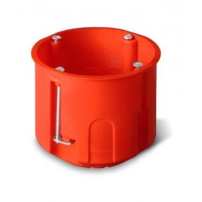Puszki-podtynkowe - puszka podtynkowa głęboka do ścian pustych pomarańczowa 60mm 0220-00 pk-60 nasielsk