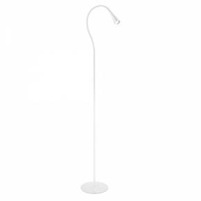 Lampa podłogowa biała LED...