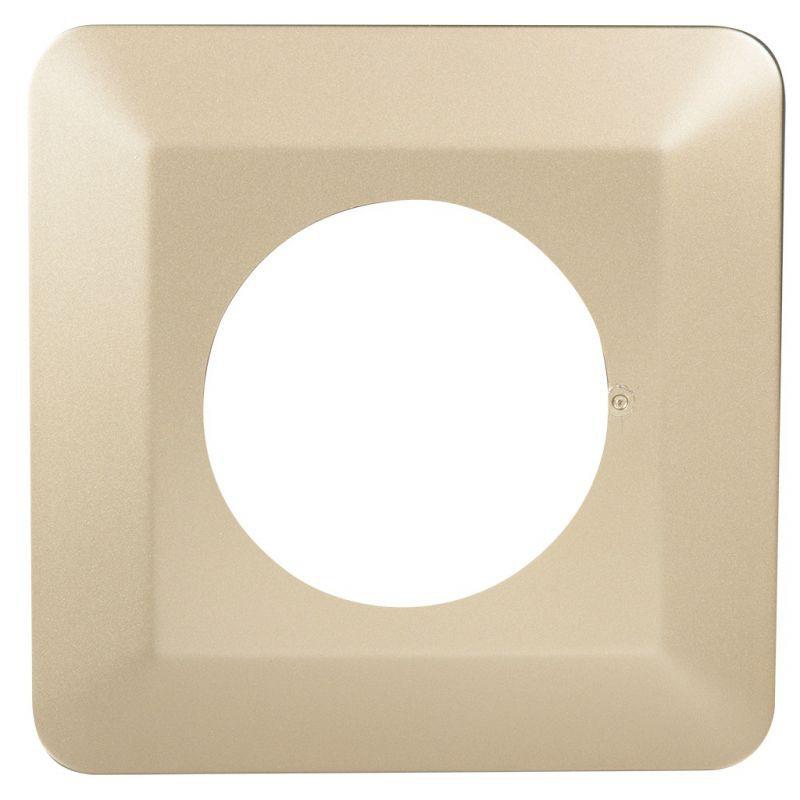 Oslony-sciany - osłona ściany pojedyncza pod włączniki i kontakty złota osx-910 zamel firmy ZAMEL