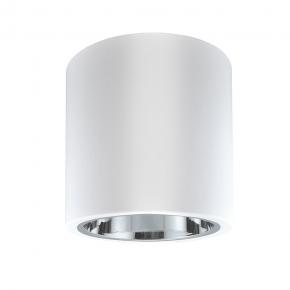 Oprawy-sufitowe - oprawa natynkowa metalowa biała tuba jupiter md-4011 polux