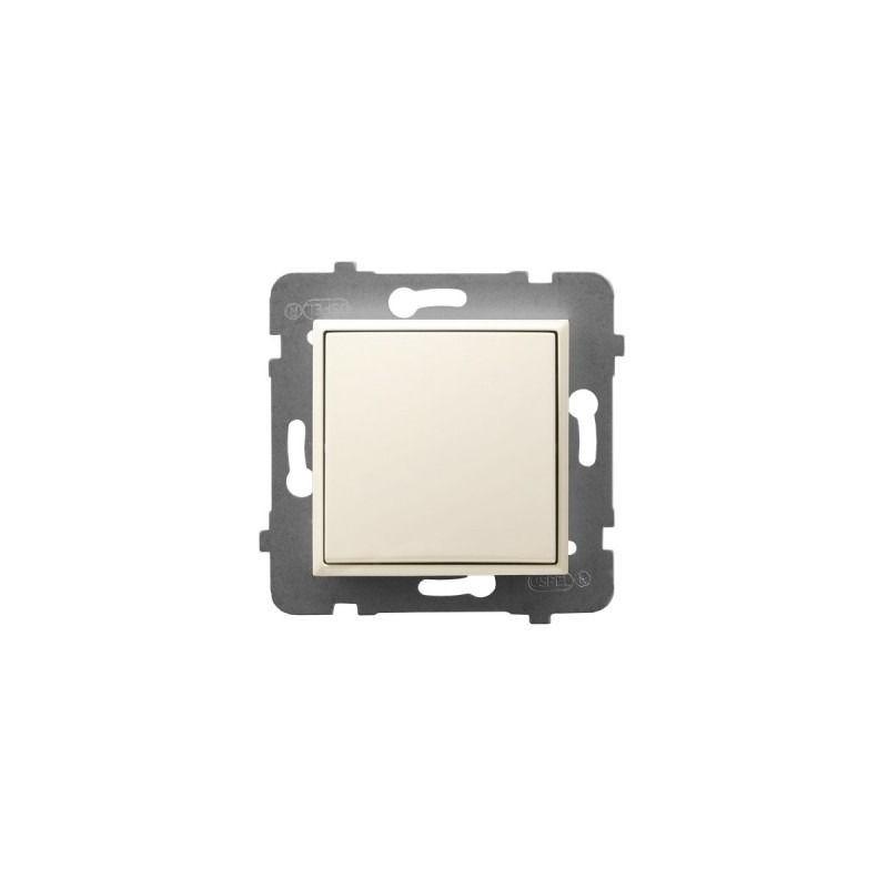 Wylaczniki-typu-swiatlo-zwierne - wyłącznik zwierny ecru łp-21u/m/27 aria ospel firmy OSPEL