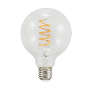 Zarowki-dekoracyjne - led-owa żarówka dekoracyjna ciepła g95 e27 4w 2200k 210lm 308917 filament polux