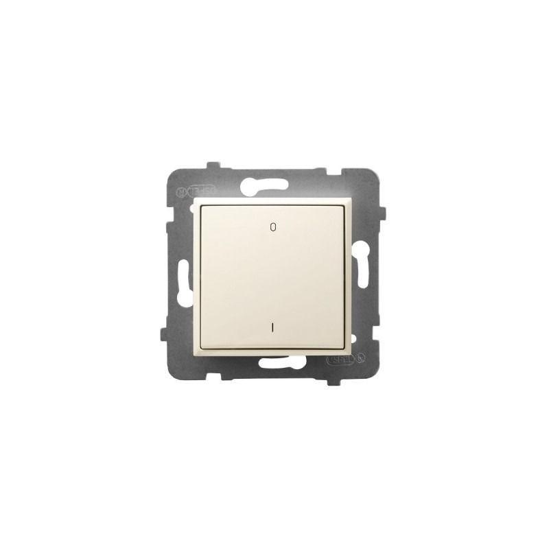 Wylaczniki-podwojne - włącznik dwubiegunowy ecru łp-11u/m/27 aria ospel firmy OSPEL