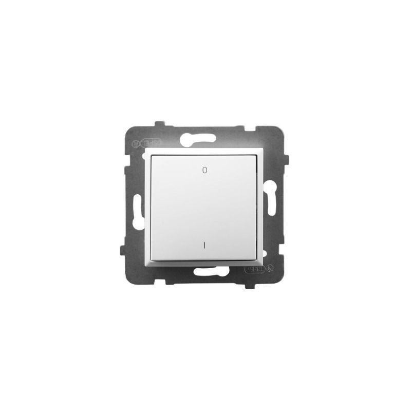 Wylaczniki-podwojne - włącznik dwubiegunowy biały łp-11u/m/00 aria ospel firmy OSPEL