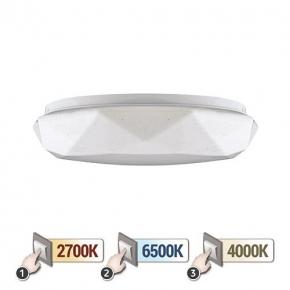 Plafoniera LED 12W ze zmienną barwą światła 2700K/4000K/6500K 840lm DIANA MULTILED IDEUS