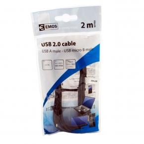 Czarny kabel USB 2.0 2...