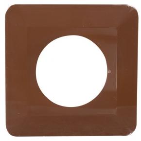 Oslony-sciany - osłona ściany pod kontakty  brązowa osx-910 zamel