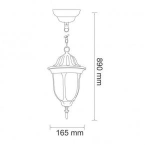Patynowa Lampa Wisząca E27 Ip43 Florencja 302557 Polux