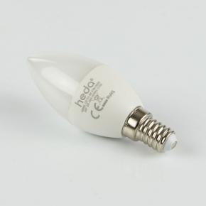 Gwint-trzonek-e14 - żarówka led świeczka hd060l b35 6w-40w e14 475lm 6500k energy a+ heda