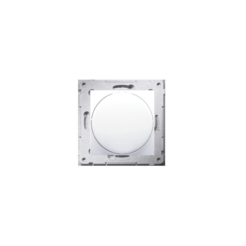 Regulatory-oswietlenia - ściemniacz do led naciskowo-obrotowy jednobiegunowy biały ds9l.01/11 simon 54 kontakt-simon firmy Kontakt-Simon