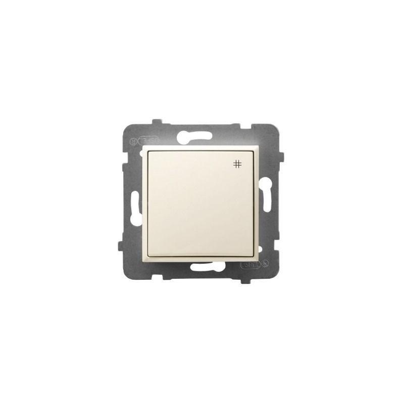 Wylaczniki-krzyzowe - włącznik krzyżowy ecru łp-4u/m/27 aria ospel firmy OSPEL
