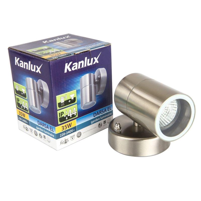 Oprawy-led-zewnetrzne - oprawa ogrodowa inox jdr gu10 darsa el-135-up kanlux firmy KANLUX