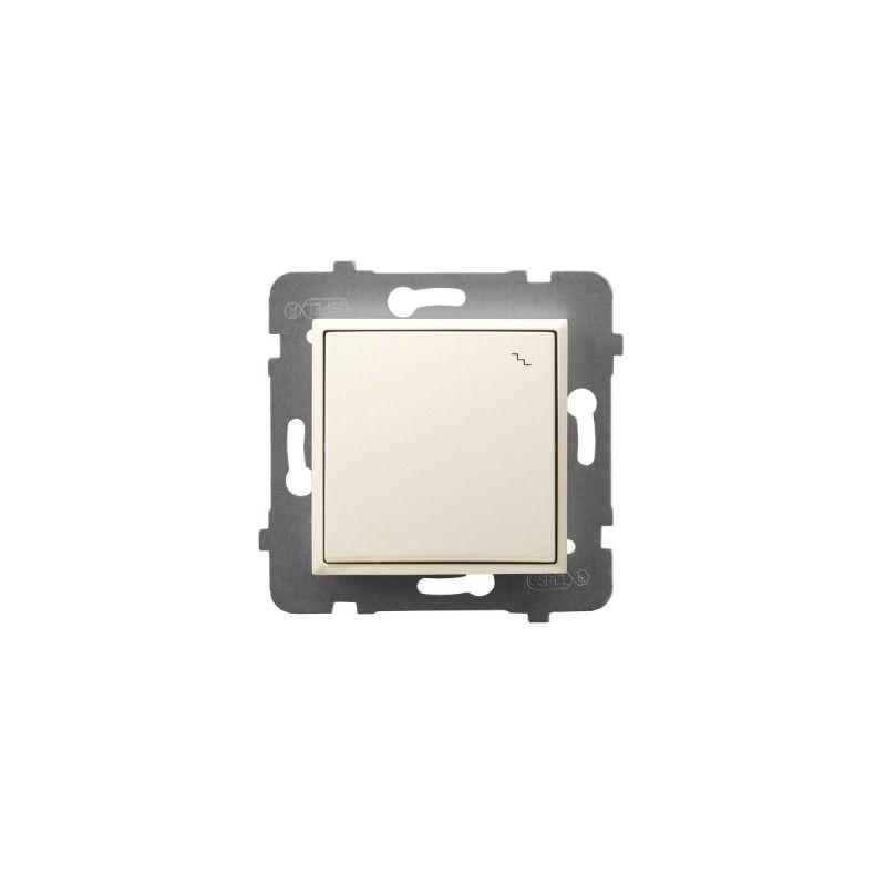 Wylaczniki-schodowe - wyłącznik schodowy ecru łp-3u/m/27 aria ospel firmy OSPEL