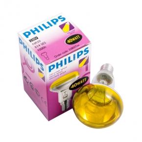 Zarowki-tradycyjne - żarówka reflektorowa philips żółta r50 40w e14