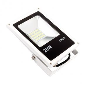 Naswietlacze-led - ecoenergy naświetlacz led 20 w ip65 1400lm 6000k zimny 120st. ee-09-ss020-6w