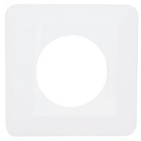 Osłona na ścianę pod kontakty i włączniki pojedyncza biała OSX-910 ZAMEL