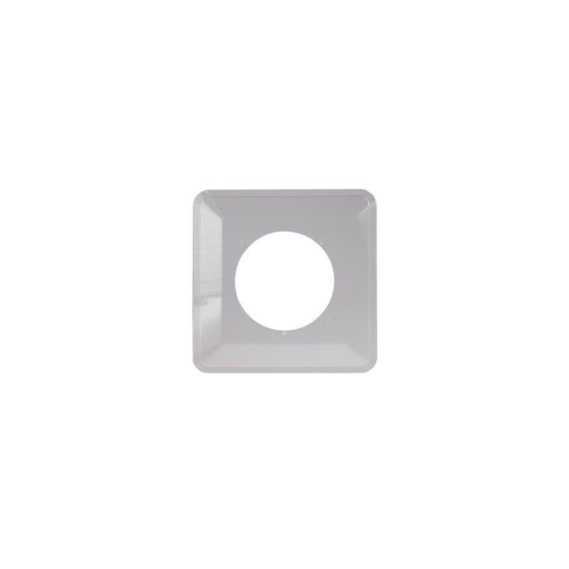 Oslony-sciany - osłona ściany pod kontakty i włączniki pojedyncza bezbarwna osx-910 zamel firmy ZAMEL