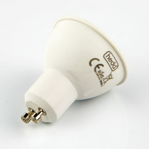 Gwint-trzonek-gu10 - żarówka gu10 led biała ciepła 6 watowa  odpowiednik 36w 410lm 120° 3000k heda hd230