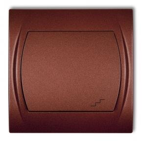 Włącznik schodowy brązowy metalik 9LWP-3 LOGO KARLIK