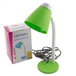 Zielona lekka lampka na...
