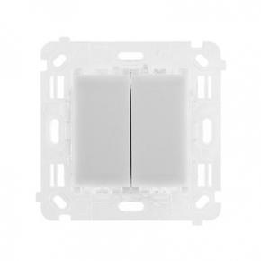Mechanizm włącznika podwójnego schodowo-krzyżowego ST2S Simon 54 Touch Kontakt Simon