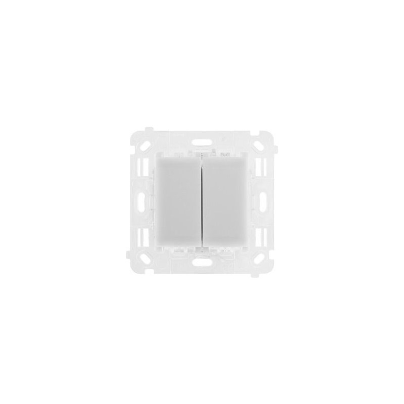 Wylaczniki-podwojne - mechanizm włącznika podwójnego schodowo-krzyżowego st2s simon 54 touch kontakt simon firmy Kontakt-Simon