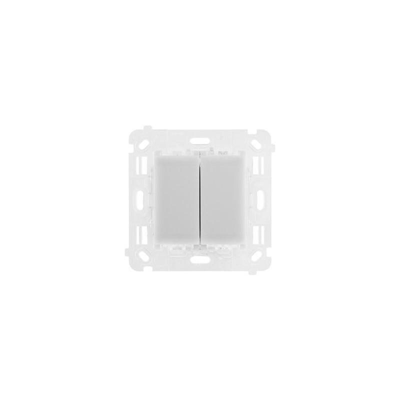 Wylaczniki-podwojne - mechanizm włącznika podwójnego uniwersalny st2m simon 54 touch kontakt simon firmy Kontakt-Simon