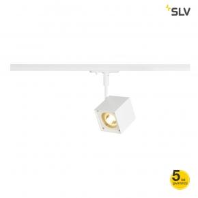 Oswietlenie-szynowe - biała oprawa szynowa altra dice spot kwadratowa gu10 max 50w adapter 1f spotline