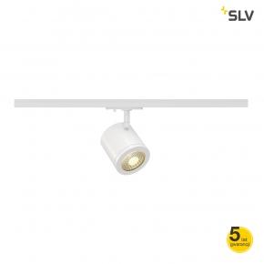Oswietlenie-szynowe - reflektor na szynie okrągły biały enola_c spot 9wled 3000k 35° adapter 1f spotline