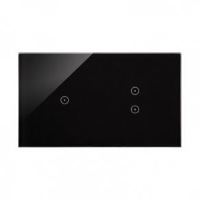 Panel dotykowy 1 pole+2 pola dotykowe pionowe zastygła lawa Simon 54 Touch DSTR213/73 Kontakt-Simon