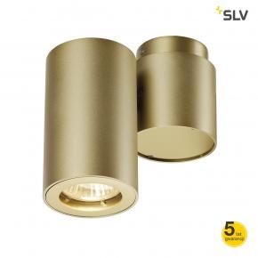 Oswietlenie-sufitowe - oprawa ścienno-sufitowa pojedyncza enola_b spot 1 mosiądz gu10 max 50w spotline