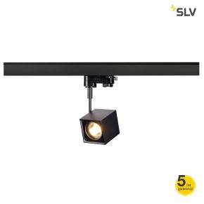 Oswietlenie-szynowe - szynowa oprawa sufitowa kostka do systemu 3f altra dice spot czarna gu10 max 50w 3f adapter spotline