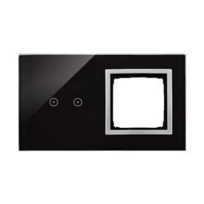Panel dotykowy 2 pola dotykowe+otwór na osprzęt księżycowa lawa DSTR220/74 Simon 54 Touch Kontakt-Simon