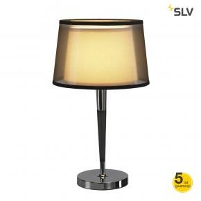 Lampki-nocne - lampka stołowa bishade tl-1 e27 max 40w spotline