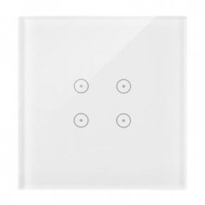 Panel dotykowy biała perła 1 moduł 4 pola dotykowe DSTR14/70 Simon 54 Touch Kontakt-Simon