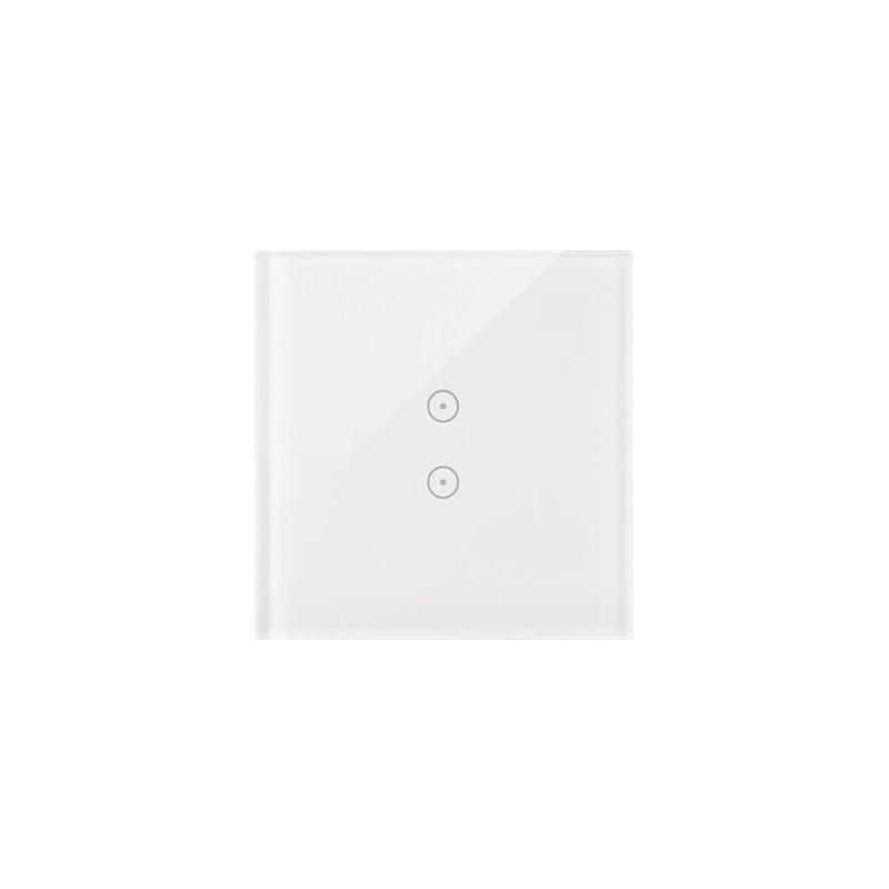 Panele-dotykowe - panel dotykowy biała perła 1 moduł 2 pola dotykowe pionowe dstr13/70 simon 54 touch kontakt-simon firmy Kontakt-Simon