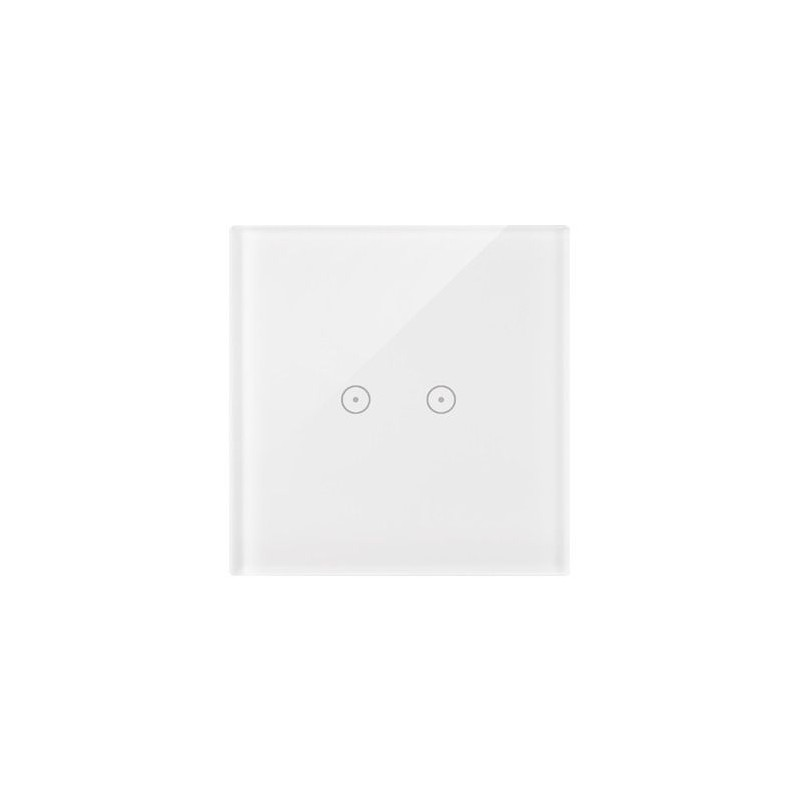 Panele-dotykowe - panel dotykowy biała perła 1 moduł 2 pola dotykowe dstr12/70 simon 54 touch kontakt-simon firmy Kontakt-Simon