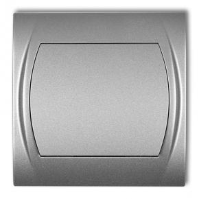Wyłącznik jednobiegunowy srebrny metaliczny 7LWP-1 LOGO KARLIK