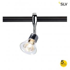 Oswietlenie-szynowe - oprawa szynow anila easytec ii chrom gu10 max 50w spotline