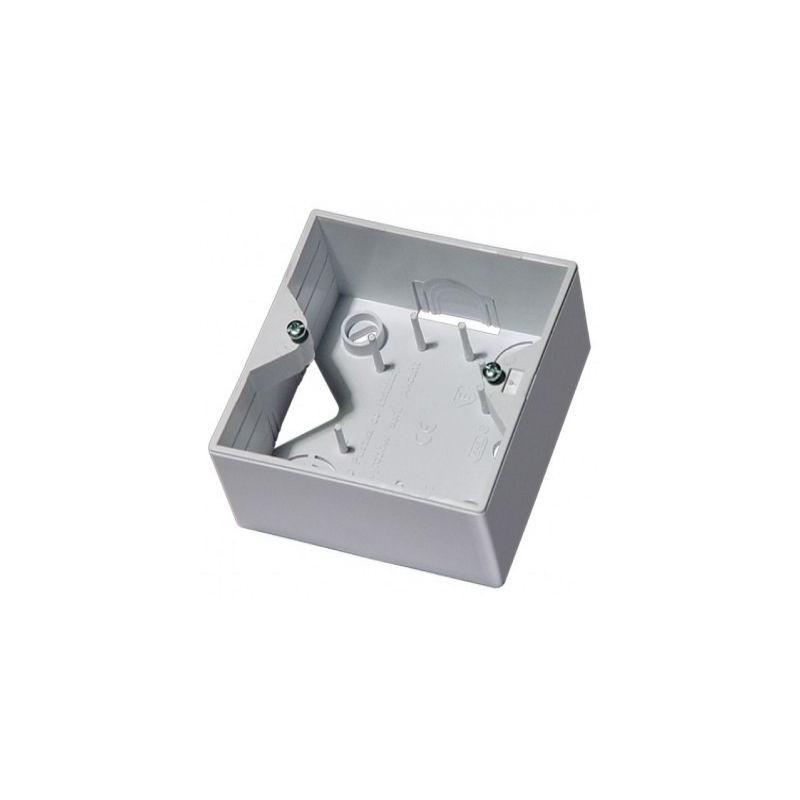 Puszki-natynkowe - puszka natynkowa instalacyjna do gniazd biała pnp-ag/00 akcent ospel firmy OSPEL