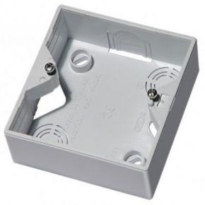 Puszki-natynkowe - puszka elektryczna natynkowa do włączników biała pnp-a/00 akcent ospel