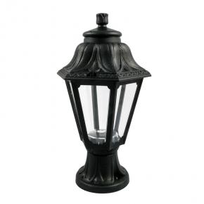 Czarna latarnia ogrodowa...