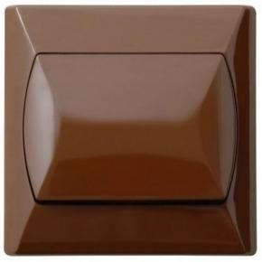 Wlaczniki-i-przyciski-dzwonkowe - włącznik dzwonek zwierny brązowy łp-6a/24 akcent ospel