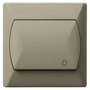 Włącznik zwierny światło beżowy ŁP-5A/01 AKCENT OSPEL