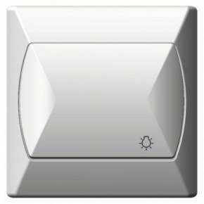 Włącznik zwierny światło biały ŁP-5A/00 AKCENT OSPEL