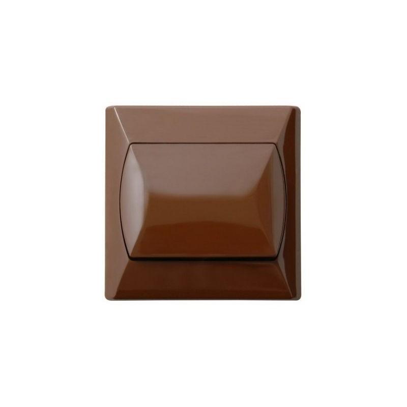 Wylaczniki-schodowe - wyłącznik schodowy brązowy łp-3a/24 akcent ospel firmy OSPEL